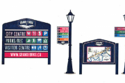 The community had voted for the current sign design as one of the three options developed in consultation with the business community.